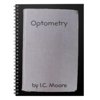 Phony book, funny author  no. 2 Optometry Spiral Notebooks