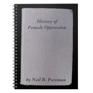 Phony book, funny author  no. 6 Oppression Notebook