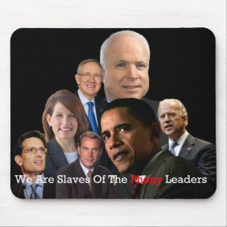 Phony Leaders Mouse Pad
