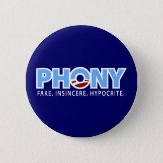 Phony Obama Button