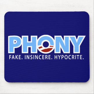 Phony Obama Mouse Pads