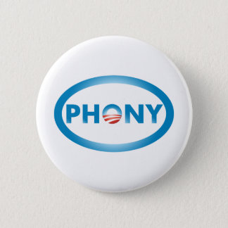 PHONY PINBACK BUTTON