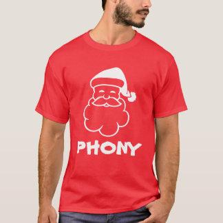 Phony Santa Claus   Anti Christmas t shirt