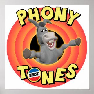 Phony Tones Poster