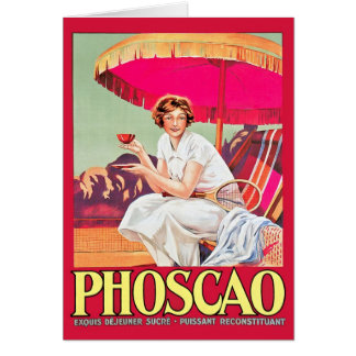 Phoscao Ad with Tennis Player Card