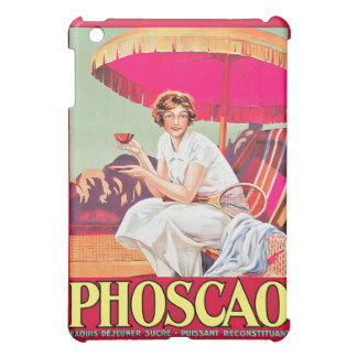 Phoscao Ad with Tennis Player iPad Mini Cases