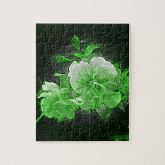 Phosphor flowers jigsaw puzzle