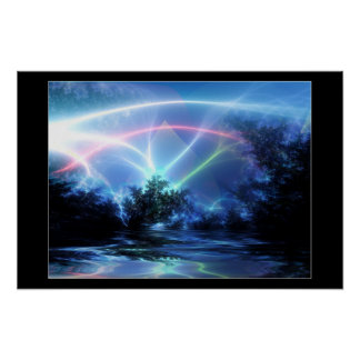 Phosphor Night Poster