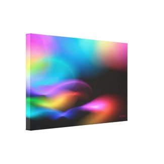 Phosphorescent Tide Gallery Wrap Canvas
