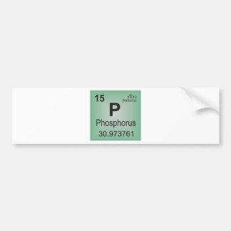 Phosphorus Individual Element - Periodic Table Bumper Sticker