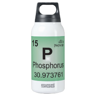 Phosphorus Individual Element - Periodic Table Insulated Water Bottle