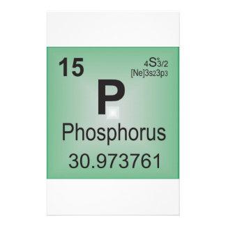 Phosphorus Individual Element - Periodic Table Stationery