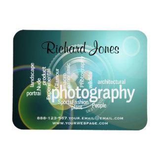 Photagraphy Typography Bokeh Photographer Magnet