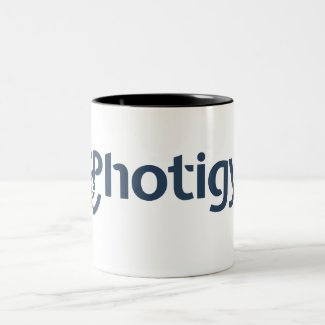 Photigy Two-Tone Coffee Mug