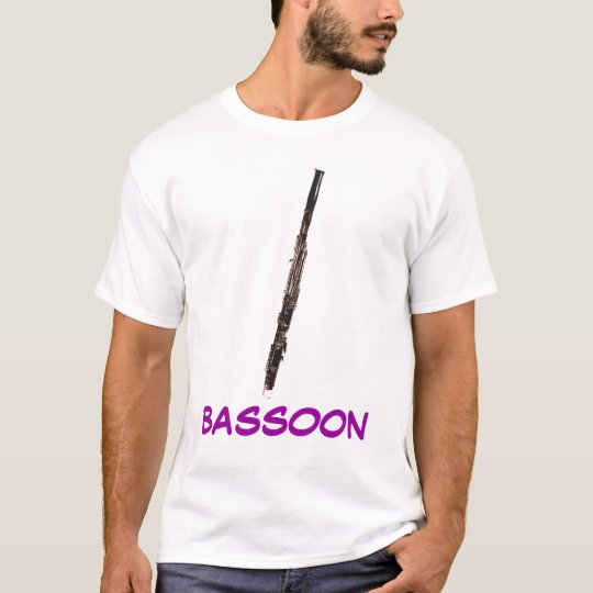 photo1200bassoon, BASSOON - Customized T-Shirt