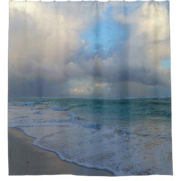 Ocean Themed Photo 21 Ocean Beach Shower Curtain