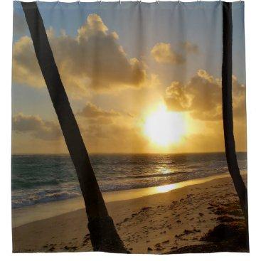Ocean Themed Photo 22 ocean beach shower curtain