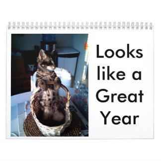 photo-68, parecer un gran año calendario de pared