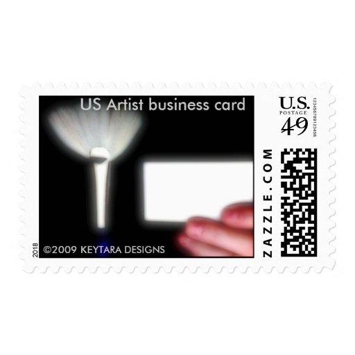 Photo 7181, US Artist business card, 2009 KEYT... Stamps