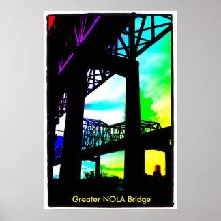 photo-9, mayor puente de NOLA Póster