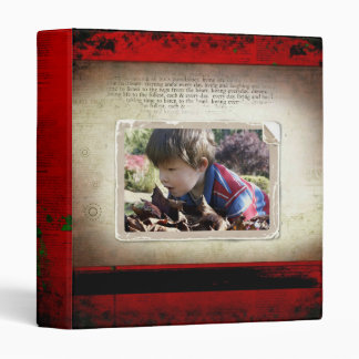 Photo album 3 ring binder
