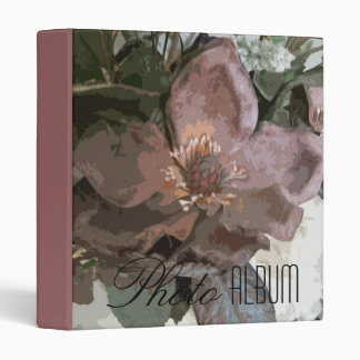 Photo Album - Abstract Blossom 3960 3 Ring Binder