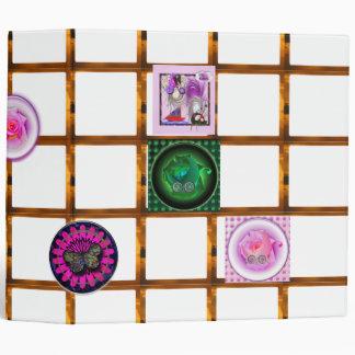 Photo album baby girl binder