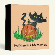 Photo Album Binder - Halloween Kitty