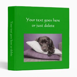 Photo Album bright green custom photo binder