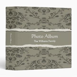 Photo Album Elegant Torn Pattern Binder