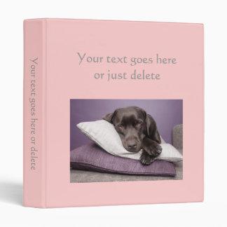 Photo Album plain pale pink custom photo binder