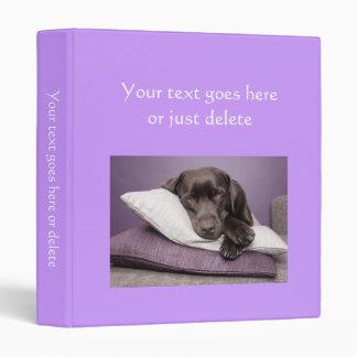 Photo Album plain purple custom photo binder