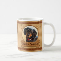 Photo and Personalized Pet Memorial Gifts Coffee Mug