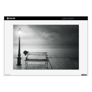 "Photo art black white art deco vintage memory skin for 15"" laptop"