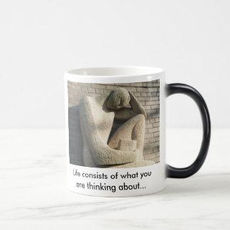 Photo Art; Library Sculpture Magic Mug