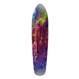 Photo art of fallen tree custom skateboard