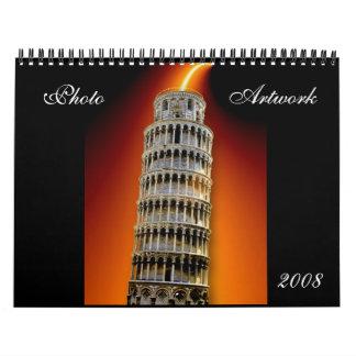 Photo Artwork 2008 Calendar