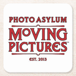 Photo Asylum Moving Pictures Drink Coaster