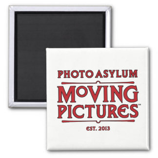 Photo Asylum Moving Pictures Magnet