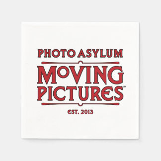 Photo Asylum Moving Pictures Paper Napkins