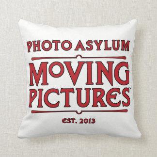 Photo Asylum Moving Pictures Pillow