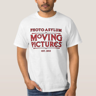 Photo Asylum Moving Pictures Production Crew Tee