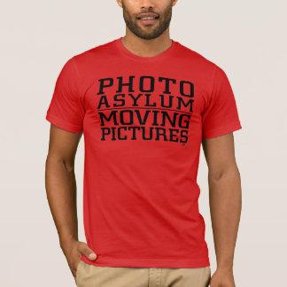Photo Asylum Moving Pictures Tee Shirt No Logo