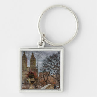 Photo at Bow Bridge in Central Park, NYC Key Chain