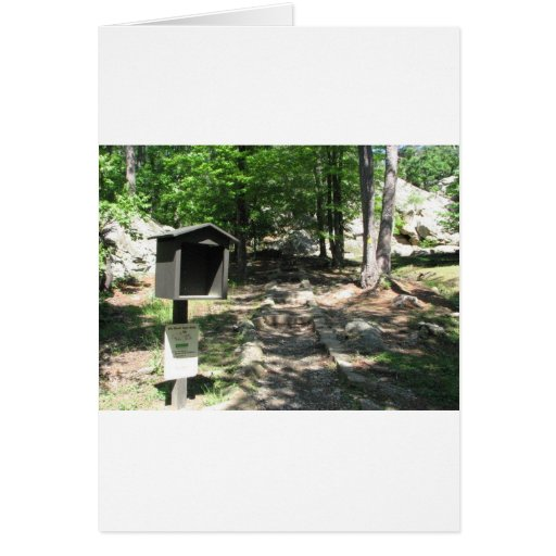 Photo at Robbers Cave Card