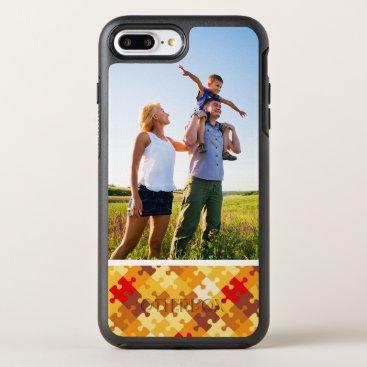 Halloween Themed Photo Autumn colors puzzle background OtterBox Symmetry iPhone 8 Plus/7 Plus Case