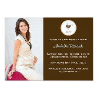 Photo Baby Shower Invitation