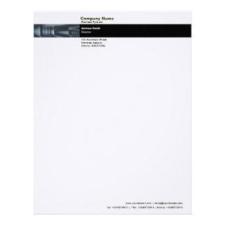 Photo Band - Abstract Glass Letterhead
