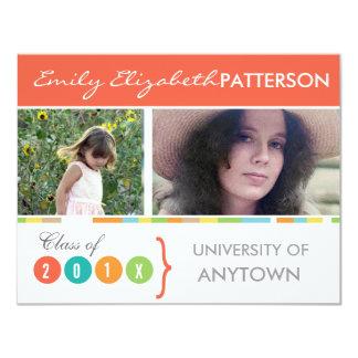 Photo Banner Graduation 4.25x5.5 Paper Invitation Card