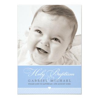 PHOTO BAPTISM INVITATION :: lovely type 5